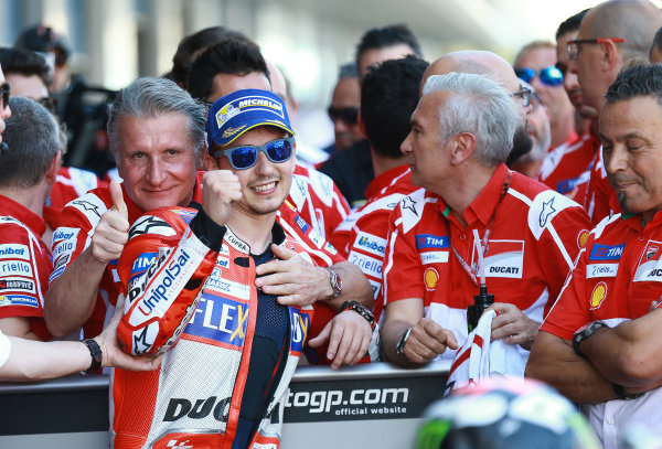2017 MotoGP Championship - Round 4 Jerez, Spain Sunday 7 May 2017 Jorge Lorenzo, Ducati Team World Copyright: Gold & Goose Photography/LAT Images ref: Digital Image 16111
