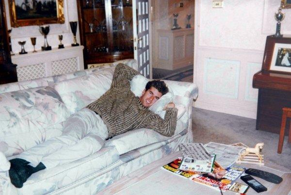 Ralph Firman Jnr (GBR) at home.Ralph Firman Childhood Pictures, circa 1996.