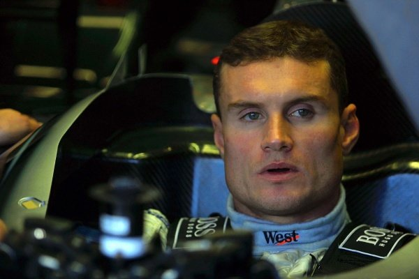David Coulthard (GBR) McLaren Mercedes MP4-17