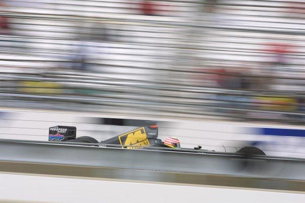 2001 American Grand Prix - Friday / PracticeIndianapolis Motor Speedway, Indianapolis. America. 28th September 2001Alex Yoong, European Minardi PS01, action.World Copyright - LAT Photographicref: 8 9 MB Digital