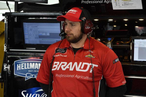 #7: Justin Allgaier, JR Motorsports, Chevrolet Camaro BRANDT Professional Agriculture crew