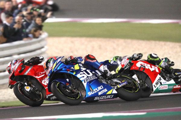 Petruccci, Alex Rins, Team Suzuki MotoGP, Cal Crutchlow, Team LCR Honda.