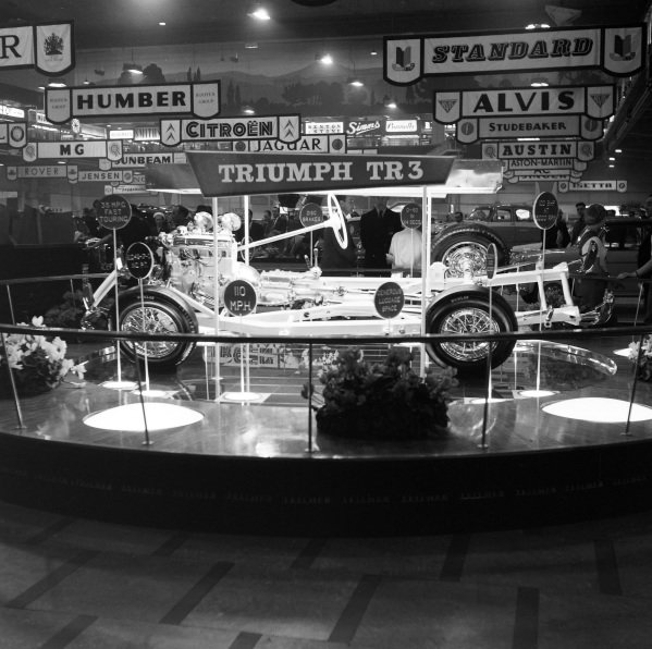 Triumph TR3 chassis.