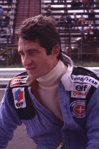 1977 Formula 1 World Championship.Patrick Depailler (Tyrrell-Ford Cosworth).Ref-D2A 15.World - LAT Photographic