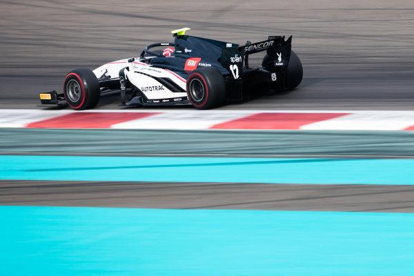 YAS MARINA CIRCUIT, UNITED ARAB EMIRATES - DECEMBER 07: Pedro Piquet (BRA, Charouz Racing System) during the Abu Dhabi December testing at Yas Marina Circuit on December 07, 2019 in Yas Marina Circuit, United Arab Emirates. (Photo by Joe Portlock / LAT Images / FIA F2 Championship)