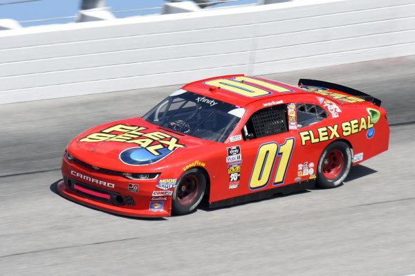 #01: Landon Cassill, JD Motorsports, Chevrolet Camaro