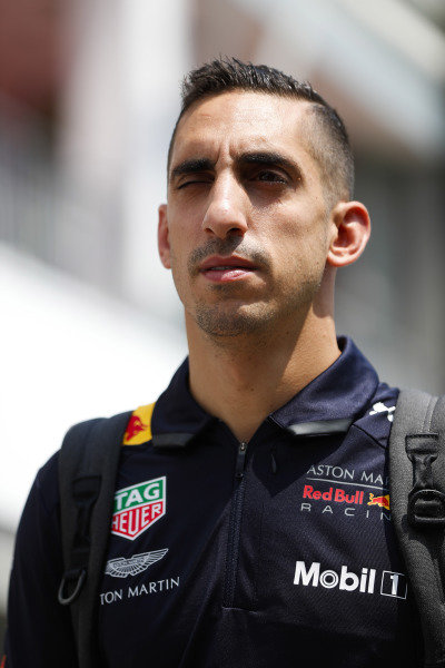 Sebastien Buemi, Test and Reserve Driver, Red Bull Racing.