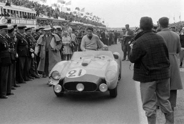 Jean Blaton / Alain de Changy, Equipe Nationale Belge, Ferrari 250 TR.