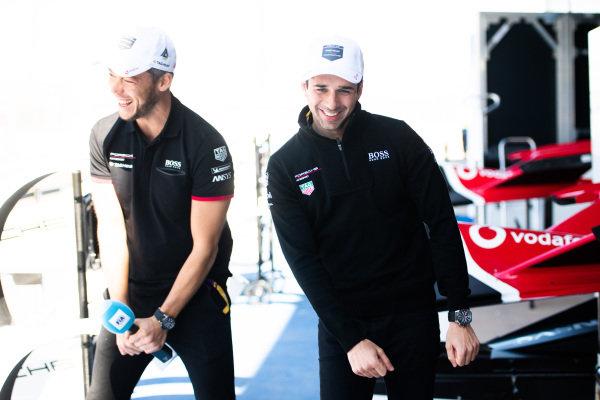 Andre Lotterer (DEU), Tag Heuer Porsche and Neel Jani (CHE), Tag Heuer Porsche