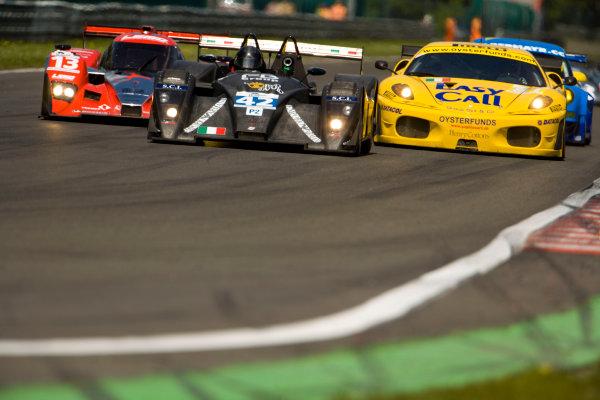 Spa, Belgium. 8th - 10th April 2009. Ranieri Randaccio / Glauco Solieri, (Ranieri Randaccio), Lucchini - Nicholson McLaren. Action.World Copyright: Drew Gibson/LATref: Digital Image _Y8P4451