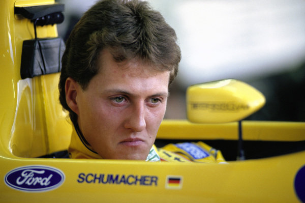 Michael Schumacher, Benetton B191B Ford.