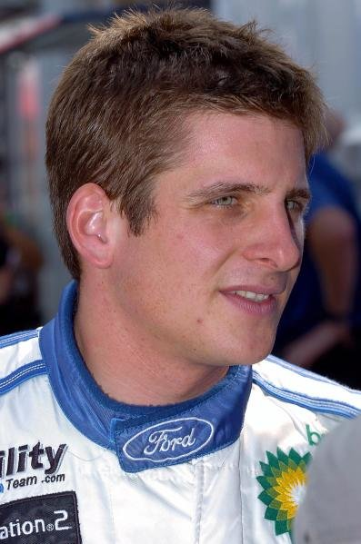 Francois Duval (BEL) Ford.World Rally Championship, Rd11, Rally of Japan, Shakedown, Obihiro, Hokkaido, Japan, 2 September2004.DIGITAL IMAGE