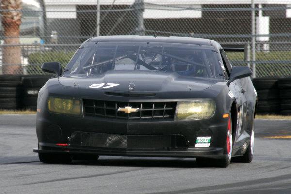 8-9 December, 2009, Daytona Beach, Florida USAStevenson Motorsports, Camaro GT R of Andrew Davis, Robin Liddell & Gunter Schaldach©2009, Greg Aleck, USALAT Photographic