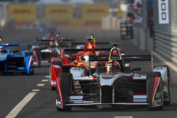 FIA Formula E -  Race Beijing E-Prix, China Saturday 13 September 2014. Oriol Servia (SPA)/Dragon Racing - Spark-Renault SRT_01E  Photo: Sam Bloxham/LAT/ Formula E ref: Digital Image _G7C2128