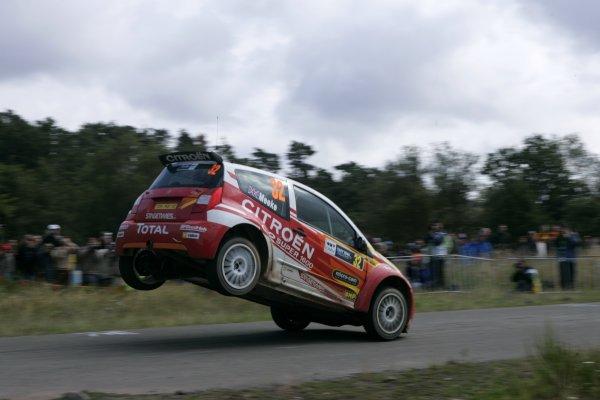 2006 FIA World Rally Champs. Round elevenDeutschland Rally.9th- 13th August 2006.Kris Meeke, Citroen, action.World Copyright: McKlein/LAT