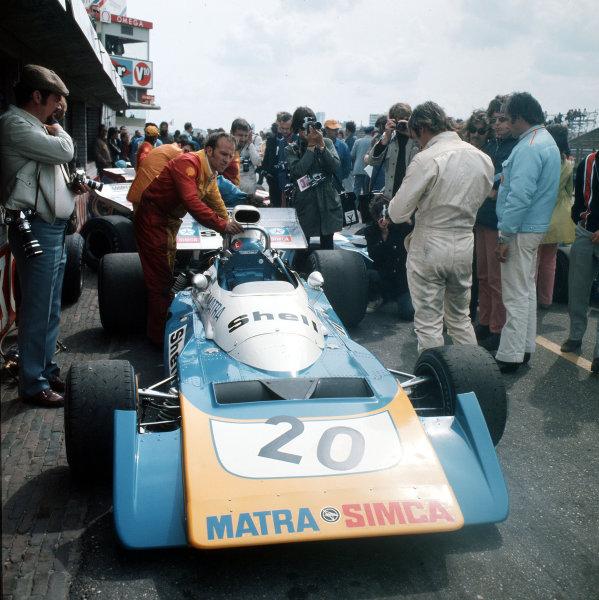 Zandvoort, Holland.18-20 June 1971.Chris Amon (Matra-Simca MS120B).Ref-3/4774F.World Copyright - LAT Photographic