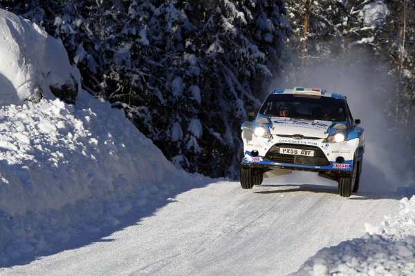 Round 01-Rally Sweden. 10th-13th February 2011.Craig Breen, Ford S2000, Action.Worldwide Copyright: McKlein/LAT