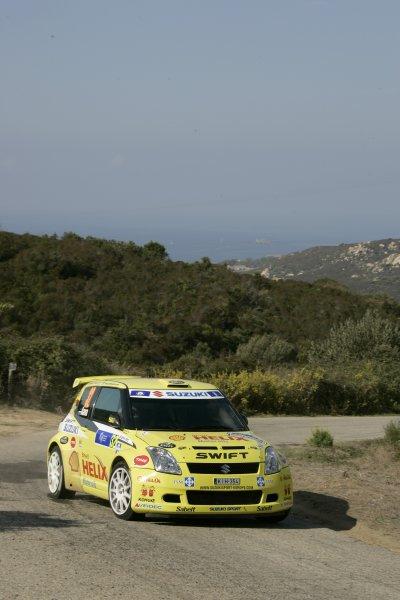 2007 FIA World Rally ChampionshipRound 13Rally of France, Tour de Course 200711-14 October 2007Urmo Aava, Suzuki, JWRC, Action.Worldwide Copyright: McKlein/LAT