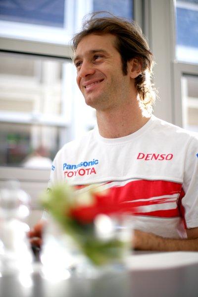 2007 Spanish Grand PrixCircuit de Catalunya, Barcelona, Spain.11th - 13th May 2007.Jarno Trulli, Toyota TF107. Portrait.World Copyright: Lorenzo Bellanca/LAT Photographicref: Digital Image ZD2J5389