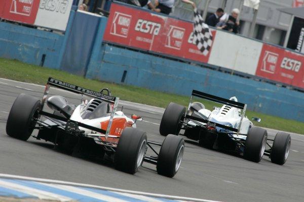 2007 British Formula Three Championship,Donington Park 21st-22nd April 2007,Sergio Perez (MEX) T-Sport Dallara Mugen Honda World copyright: Ebrey/LAT Photographic.
