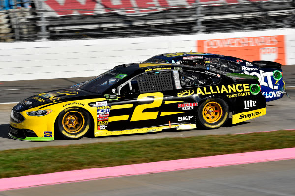 Monster Energy NASCAR Cup Series First Data 500 Martinsville Speedway, Martinsville VA USA Sunday 29 October 2017 Brad Keselowski, Team Penske, Alliance Truck Parts Ford Fusion World Copyright: Rusty Jarrett LAT Images
