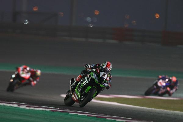 2017 Superbike World Championship - Round 13  Losail, Qatar.  Saturday 4 November 2017 Jonathan Rea, Kawasaki Racing  World Copyright: Gold and Goose Photography/LAT Images ref: Digital Image 704237