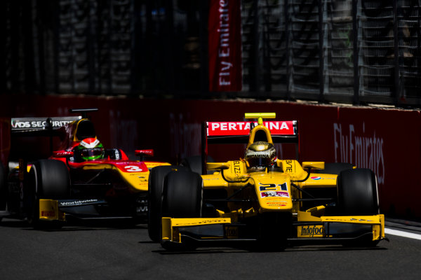 2017 FIA Formula 2 Round 4. Baku City Circuit, Baku, Azerbaijan. Friday 23 June 2017. Sean Gelael (INA, Pertamina Arden)  Photo: Zak Mauger/FIA Formula 2. ref: Digital Image _54I9799