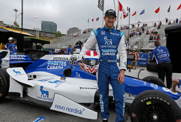 Verizon IndyCar Series Honda Indy Toronto Toronto, ON CAN Friday 14 July 2017 Charlie Kimball, Chip Ganassi Racing Teams Honda World Copyright: Phillip Abbott LAT Images ref: Digital Image abbott_toronto_0717_0016