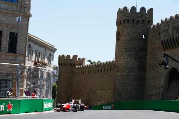 Baku City Circuit, Baku, Azerbaijan. Saturday 24 June 2017. Sergio Sette Camara (BRA, MP Motorsport)  World Copyright: Hone/LAT Images ref: Digital Image _ONY9673