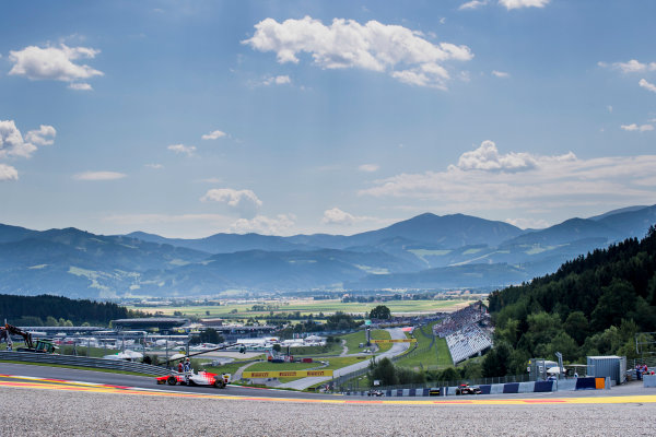 2017 FIA Formula 2 Round 5. Red Bull Ring, Spielberg, Austria. Friday 7 July 2017. Jordan King (GBR, MP Motorsport).  Photo: Zak Mauger/FIA Formula 2. ref: Digital Image _56I0558
