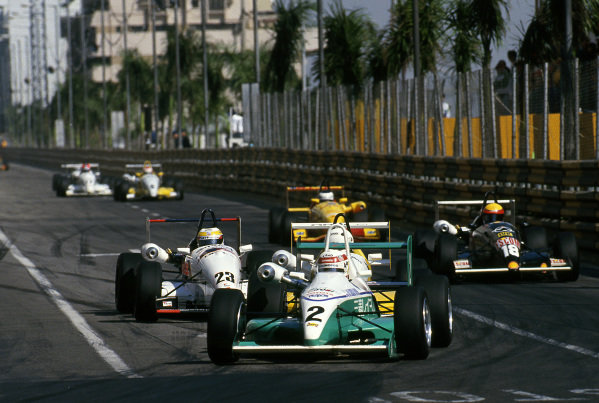 Tom Kristensen (DEN) Toms Toyota 033F at Macau Formula Three Grand Prix, Macau, Hong Kong, 21 November 1993.