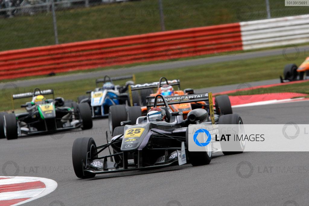 2013 FIA F3 European Championship, Silverstone, Northamptonshire. 12th - 14th April 2013. Eddie Cheever (ITA) Prema Powerteam Dallara Mercedes. World Copyright: Ebrey / LAT Photographic.