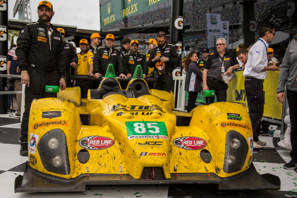 28-31 January, 2016, Daytona Beach, Florida USA 85, Chevrolet, ORECA FLM09, PC, Chris Miller, Mikhail Goikhberg, Stephen Simpson, Kenton Koch ?2016, Jake Galstad LAT Photo USA