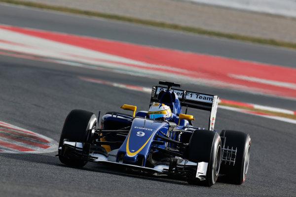 Circuit de Catalunya, Barcelona, Spain Tuesday 23 February 2016. Marcus Ericsson, Sauber C35 Ferrari. World Copyright: Alastair Staley/LAT Photographic ref: Digital Image _R6T8779