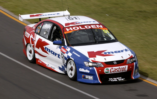 2004 Australian V8 Supercars.Non-Championship Round. Albert Park, Melbourne, 5th - 7th March.V8 Supercar driver Greg Murphy in action in his VY Commodore. World Copyright: Mark Horsburgh/LAT Photographicref: Digital Image Only