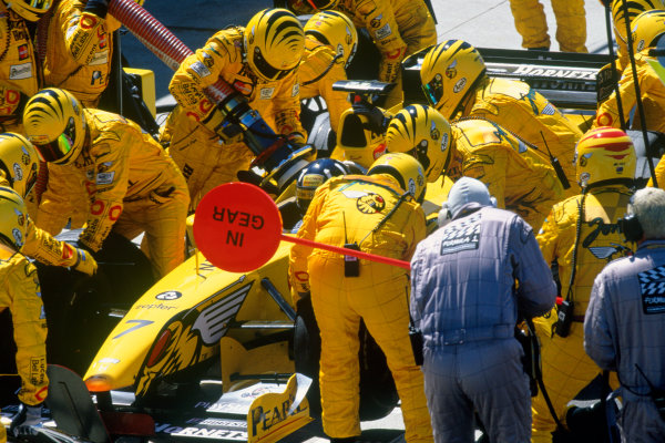 Silverstone, England.9th - 11th July 1999. Rd 8.xxxWorld Copyright: LAT PhotographicRef: 99GB28