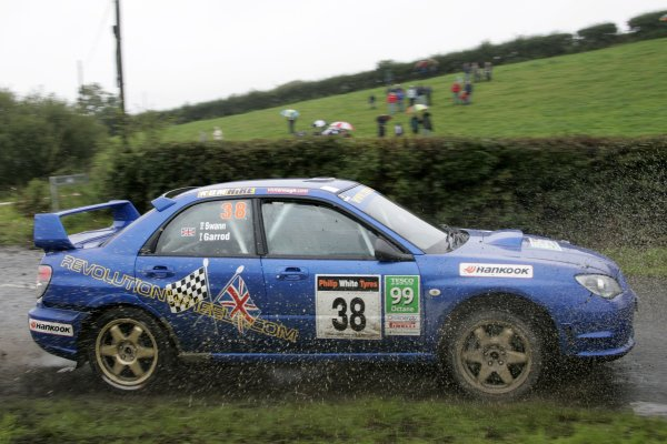 2006 British Rally ChampionshipUlster Rally, Armagh.2nd September 2006Rob SwannWorld Copyright - Ebrey/LAT Photographic