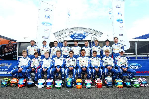 2017 British F4 Championship, Knockhill, 12th-13th August 2017, 2017 British F4 Championsip Drivers  World copyright. JEP/LAT Images