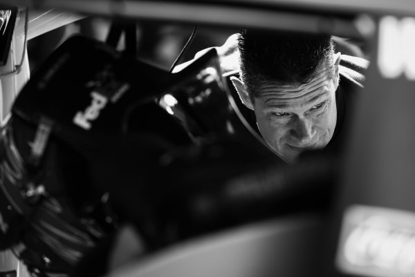 Monster Energy NASCAR Cup Series I LOVE NEW YORK 355 at The Glen Watkins Glen International, Watkins Glen, NY USA Saturday 5 August 2017 Denny Hamlin, Joe Gibbs Racing, FedEx Freight Toyota Camry crew World Copyright: Barry Cantrell LAT Images