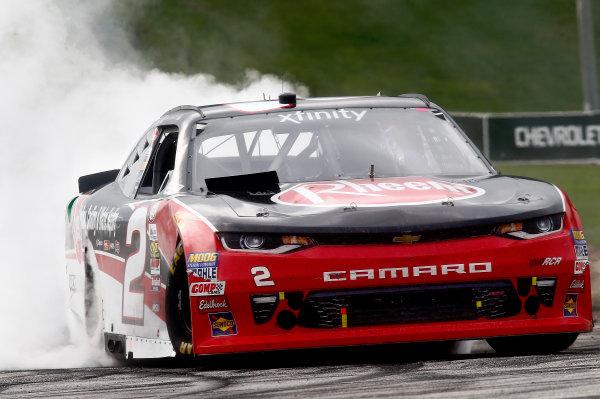 NASCAR XFINITY Series Johnsonville 180 Road America, Elkhart Lake, WI USA Sunday 27 August 2017 Ben Kennedy, Rheem Chevrolet Camaro spins World Copyright: Brett Moist LAT Images