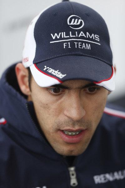 8th June 2013 Pastor Maldonado, Williams F1 World Copyright: Charles Coates/  ref: Digital Image _N7T6027