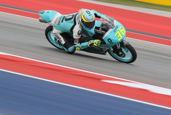2017 Moto3 Championship - Round 3 Circuit of the Americas, Austin, Texas, USA Friday 21 April 2017 Joan Mir, Leopard Racing World Copyright: Gold and Goose Photography/LAT Images ref: Digital Image Moto3-500-1817