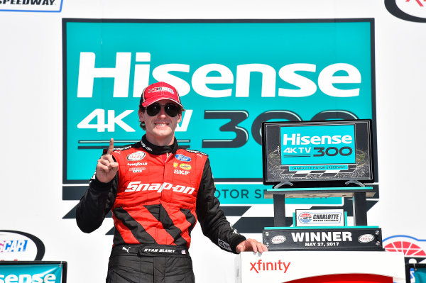 NASCAR Xfinity Series Hisense 4K TV 300 Charlotte Motor Speedway, Concord, NC USA Saturday 27 May 2017 Ryan Blaney, Snap-On Ford Mustang World Copyright: Rusty Jarrett LAT Images ref: Digital Image 17CLT2rj_9604