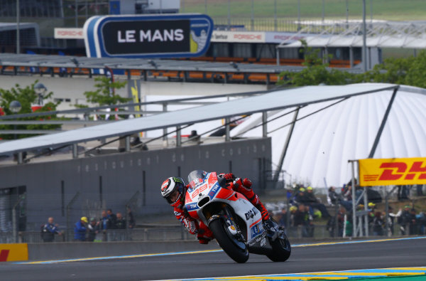2017 MotoGP Championship - Round 5 Le Mans, France Friday 19 May 2017 Jorge Lorenzo, Ducati Team World Copyright: Gold & Goose Photography/LAT Images ref: Digital Image 670415