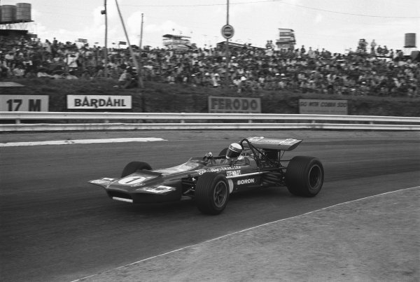 1970 South African Grand Prix. Kyalami, South Africa. 5th - 7th March 1970. Jackie Stewart (March 701-Ford), 3rd position, action.  World Copyright: LAT Photographic. Ref: 289 - 38A.