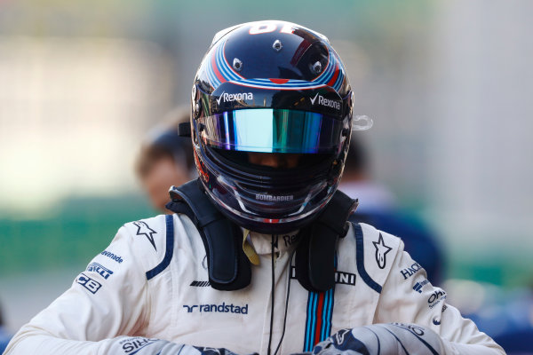 Baku City Circuit, Baku, Azerbaijan. Saturday 24 June 2017. Lance Stroll, Williams Martini Racing. World Copyright: Steven Tee/LAT Images ref: Digital Image _O3I2422