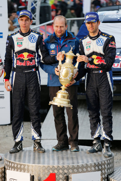 2015 World Rally Championship, Round 13, Rally of Wales GB, 12th - 15th November, 2015 Julien Ingrassia, Timo Gottschalk, Sebastien Ogier, winners  Worldwide Copyright: McKlein/LAT