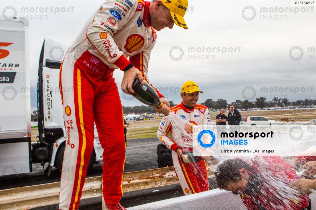 Scott McLaughlin, DJR Team Penske Ford Fabian Coulthard, DJR Team Penske Ford