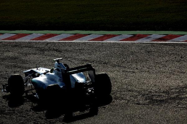 Suzuka Circuit, Suzuka, Japan.7th October 2011.Nico Rosberg, Mercedes GP W02. Action. World Copyright: Glenn Dunbar/LAT Photographicref: Digital Image IMG_2630