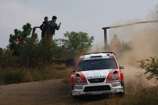 2007 FIA World Rally Champs. Round 6Rally Argentina, 3 May - 6 May Juan Pablo Raies, Ford, actionWorld Copyright: McKlein/LAT